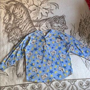 Other - Fuzzy pajama top